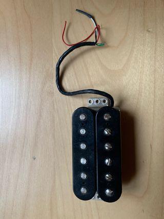 Pastilla humbucker fender para guitarra electrica