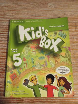 libro inglés gramática Kids box 5