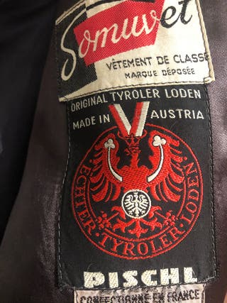Abrigo austriaco Loden talla mediana