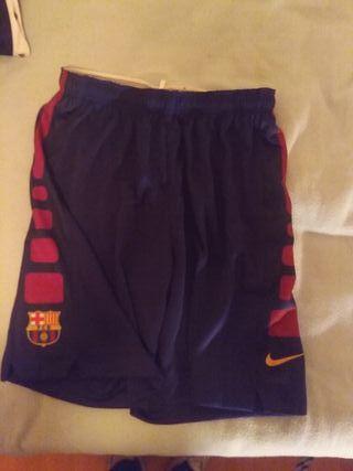 Pantalon chandal nike fc barcelona