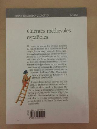 Libro Cuentos Medievales Españoles