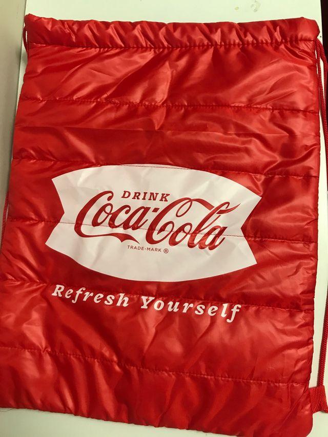 Mochila de Cocacola termica e impermeable