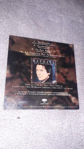 Mini cd promocion Raphael