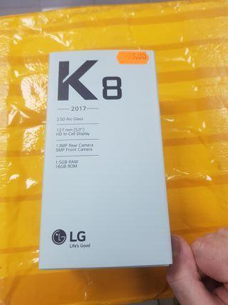 Lg k8 2017 negro nuevo