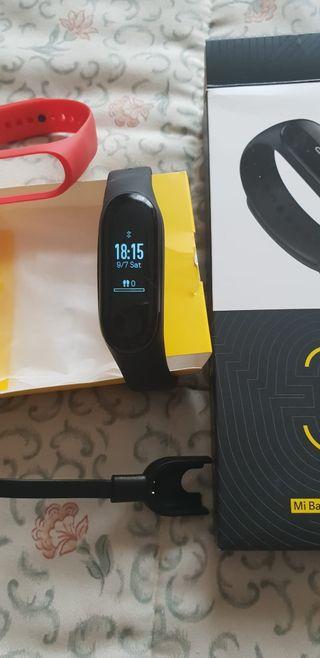 Reloj biométrico entrenamiento.