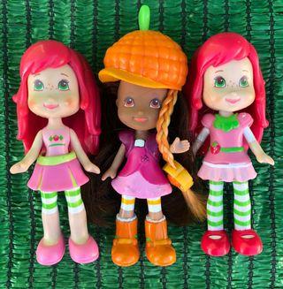 Muñecas tarta de fresa lotes las tres
