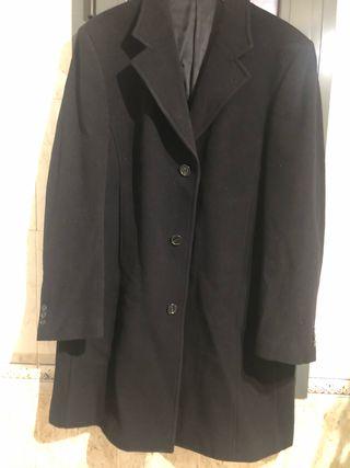 Abrigo FENDI de lana y cashmere negro talla 50