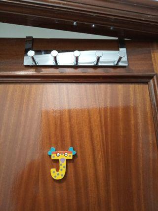 Colgador para puerta 5 perchitas