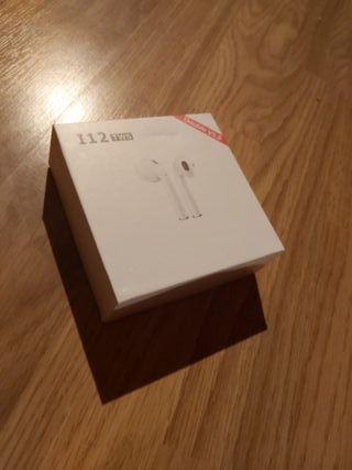 airpods i12 tws sin botón con sensor de huella