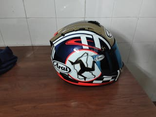 casco Arai rx7.Isla the man