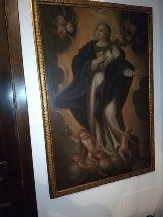 Cuadro antiguo Inmaculada