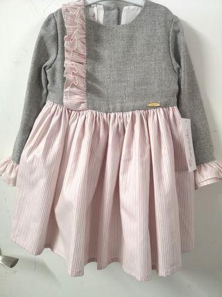 vestido carmencitas con etiqueta t:4