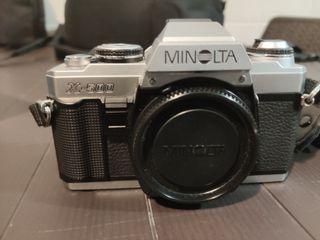 Camara Minolta X-500 + Flash + Objetivo Zoom Macro