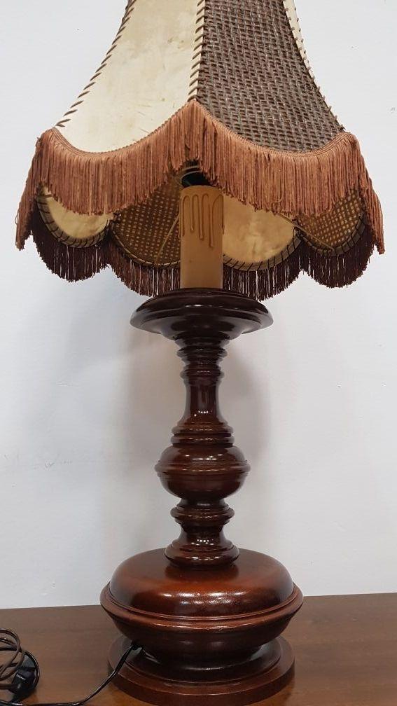 Lampara Rustica de mesa