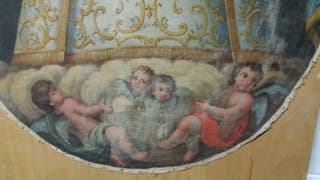 antigua pintura siglo XIX