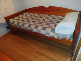 URGE VENTA: Habitación Juvenil madera.
