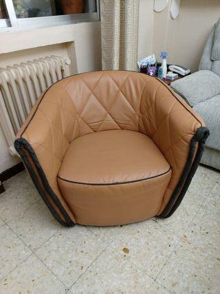 sillón polipiel