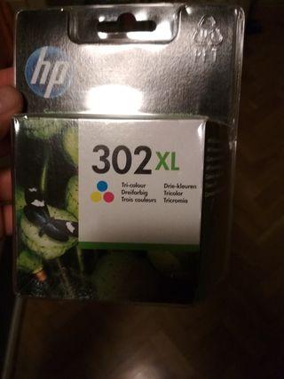 CARTUCHO HP 302 XL TRICOLOR