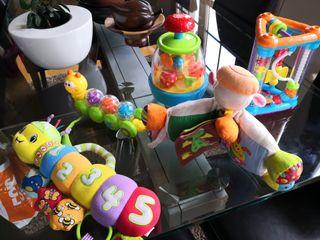 Pack de juguetes para bebe
