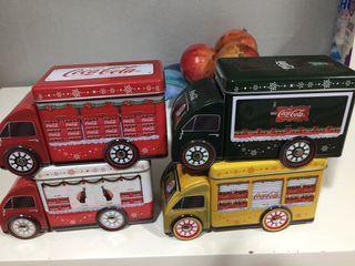 Colección camiones coca-cola