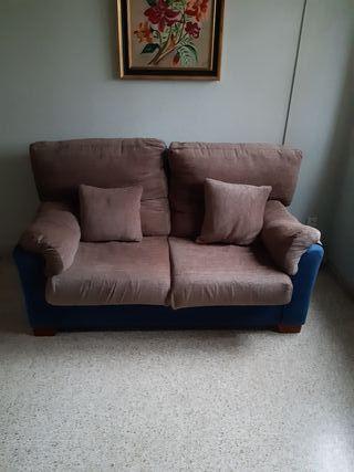 sofa de dos plazas 100€