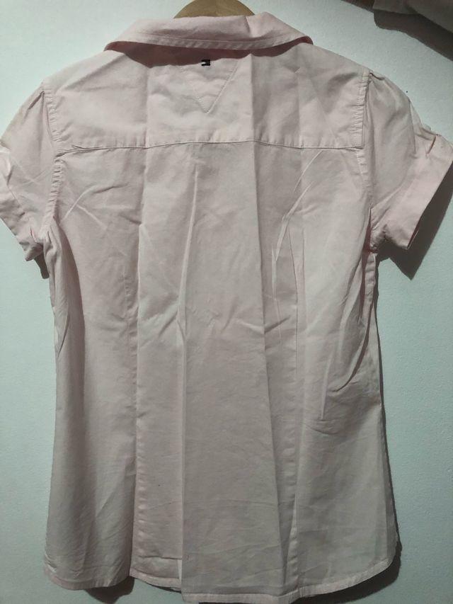 Falda vaquera y camisa niña talla 10