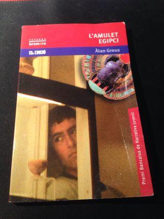 """Libro """"L' amulet egipci"""""""