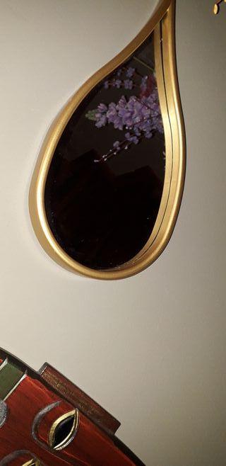 espejos en forma de lagrima