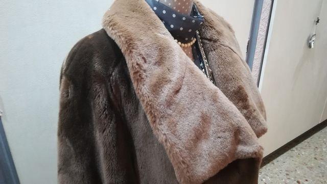 Abrigo mouton marrón