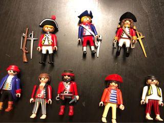 Lote playmobil piratas