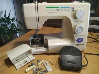 Máquina de coser eléctrica Wertheim.