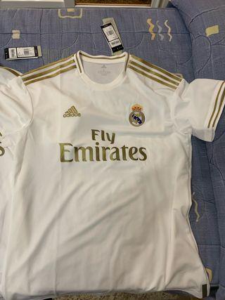 Camisetas Real madrid Originales L-M