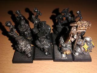 warhammer fantasy enanos martilladores