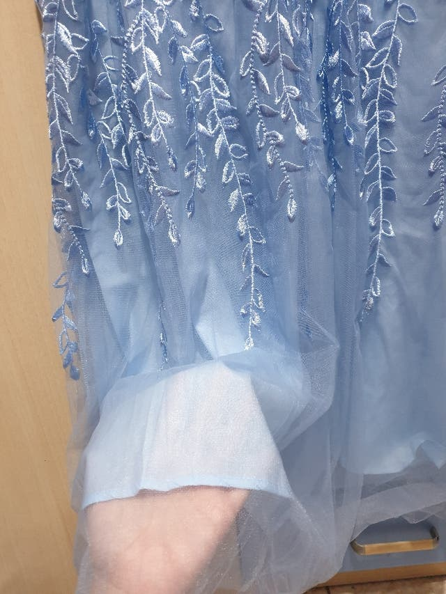 Vestido Azul Fiesta Evento Formal Nuevo