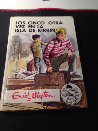 """Libro """"LOS CINCO OTRA VEZ EN LA ISLA DE KIRRIN"""""""
