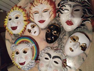 Mascaras de ceramica