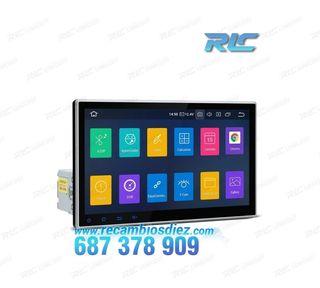 """NAVEGADOR GPS 1DIN ANDROID 9.0 LCD TÁCTIL 10"""" CARP"""