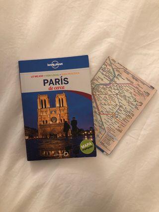 Lonely Planet París con mapa