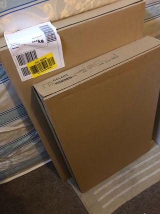 NEW IKEA GALANT Drawer unit on castors, White.