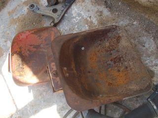 asientos de tractor antiguos, metalicos