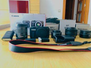 Canon EOS M perfecta! Precio negociable