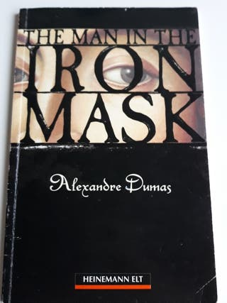 Libro inglés. The man in the iron mask