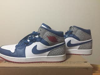 Jordan 1 Retro Mid True Blue 2013