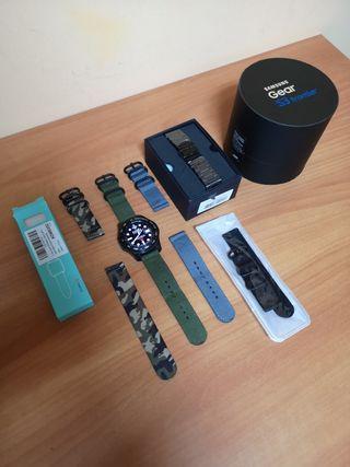Reloj inteligente Smartwatch Samsung Gear S3 Front