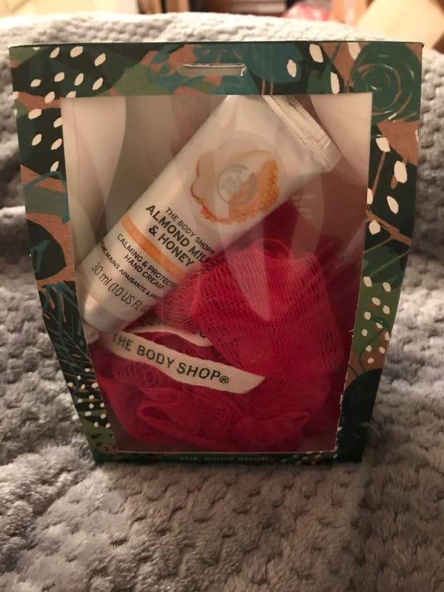 new body shop gift set