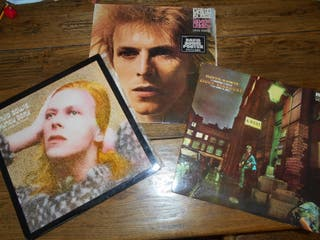 DAVID BOWIE 3 LP´S ORIGINALES ¡¡