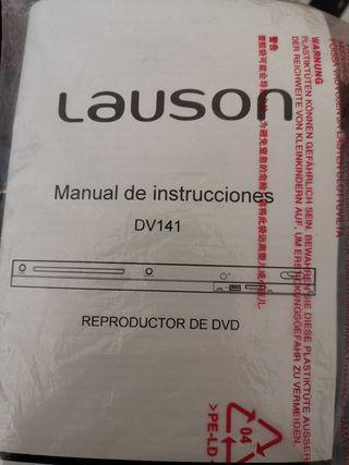 Reproductor DVD Lauson