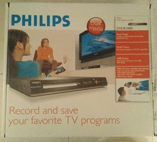 Dvd grabador/reproductor Philips DVDR3480