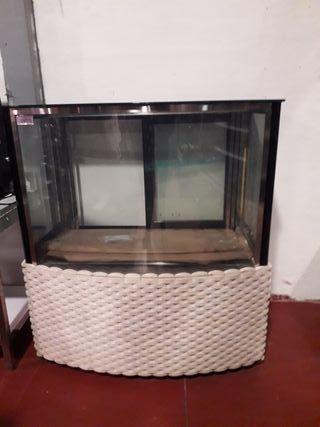 vitrina para pastelería mediana