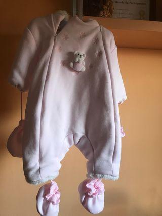 Buzo bebé Rosa T/ 6 meses